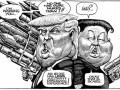 ТОП-10 лучших политических карикатур 2017 года по версии The Economist