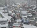 Киевлян просят воздержаться от поездок на авто