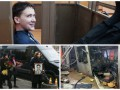 День в фото: Савченко в суде, похороны Гонгадзе и взрыв в Брюсселе