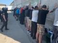 Под Одессой более 20 человек пытались захватить склад