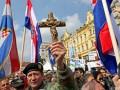 В Хорватии протестовали против