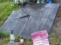 В Польше разбили памятную доску на могиле воинам УПА