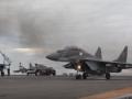 Появилось видео возвращения в РФ самолетов с Адмирала Кузнецова