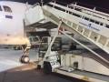 В аэропорту Петербурга под пассажирами обрушился трап