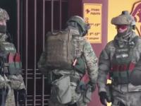 Киевлянин под кайфом бил витрины магазина и пытался вынести оружие