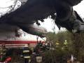 Крушение Ан-12 под Львовом: рассматриваются две версии аварии