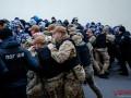 В Виннице митингующие устроили потасовку с полицией