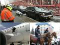 Неделя в фото: Рухнувший кран на Манхэттене, взрыв на борту самолета и полицейские на конях