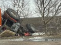 В Николаевской области столкнулись авто и трактор