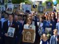 Поклонская пришла на парад с иконой Николая II