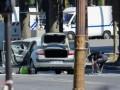 В Париже вооруженный водитель протаранил фургон полиции