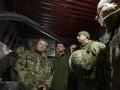 Порошенко посетил прифронтовую зону Донбасса