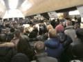 В Киеве на пересадочной станции метро не работали эскалаторы. Образовалась давка