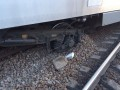 Пассажиров сошедшего с рельсов Нyundai отправили в Киев обычным поездом