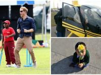 День в фото: принц Гарри и крикет, Савченко на вертолете и мальчик в ожидании Далай-ламы