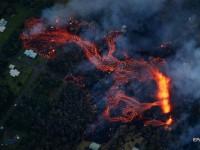 На Гавайях объявлен красный уровень тревоги из-за извержения вулкана