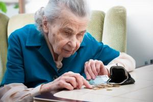 В Украине 83% пенсионеров получают пенсию ниже прожиточного минимума