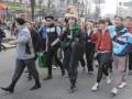 Фотогалерея: Гоп-стоп на Крещатике. В Киеве впервые прошел парад гопников