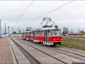 Трамвай на Троещине будет временным, пока строят метро