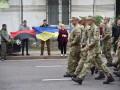 Во Львове прошло шествие десантников