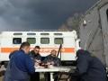 ГСЧС показала быт спасателей, борющихся с пожарами в Зоне ЧАЭС