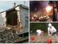 День в фото: обстрелы Сартаны, взрыв в Таиланде и урожай Лукашенко