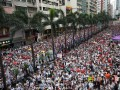 В Гонконге сотни тысяч протестовали против экстрадиции в Китай