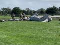 В США на авиашоу разбился военный самолет