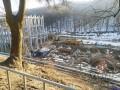 Во Львове упал строительный кран: Пострадал 71-летний рабочий