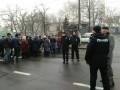 В Николаеве протестуют рабочие cудостроительного завода