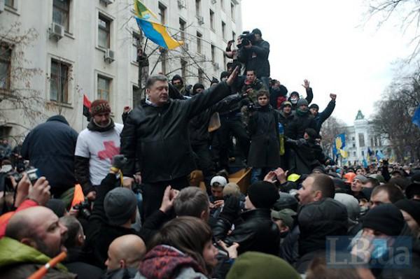 Не стоит делать из Грушевского икону, - Порошенко - Цензор.НЕТ 3016