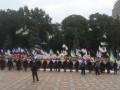Раду пикетируют около 200 человек