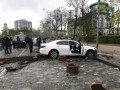 Во время спецоперации СБУ повредили Аллею Героев Небесной Сотни