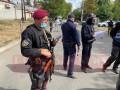 На въезде в Умань установили блокпосты