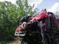 В Николаевской области лоб в лоб столкнулись два грузовика