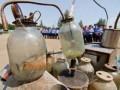 В Житомире милиция уничтожила 500 самогонных аппаратов