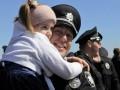 На Софийской площади в Киеве отметили День полиции