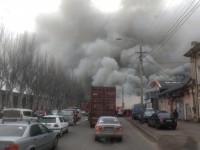 В Одессе произошел масштабный пожар