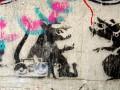 Строители в Мельбурне уничтожили граффити Бэнкси