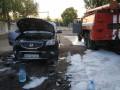 В Северодонецке горели девять автомобилей