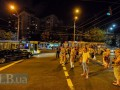 В Киеве перекрыли улицу из-за застройки сквера