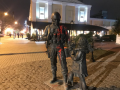 В Крыму облили краской памятник