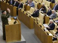 Жириновский пришел на заседание Госдумы в камуфляжной форме