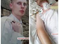В Николаеве возле больницы пациент до смерти избил прохожего