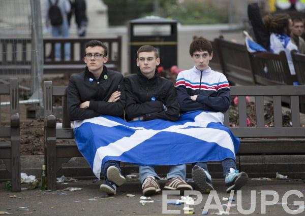 В Шотландии уже был референдум о независимости - шотландцы выбрали Великобританию