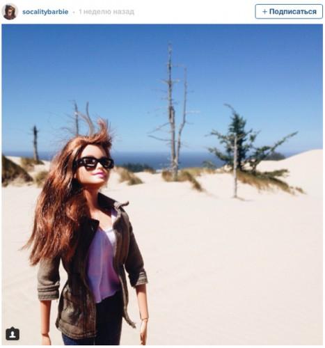 Барби-хипстер ведет крутой инстаграм и очень увлекательную жизнь