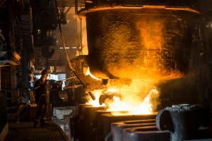 В Украине рекордно снизилось производство металлургии