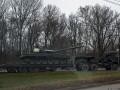 В Симферополе заметили скопление российской военной техники