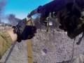 Война в Иловайске от первого лица: видео штурма блокпоста боевиков