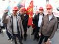 Протестующие в Киеве шахтеры переместились к Минэнерго и перекрыли Крещатик